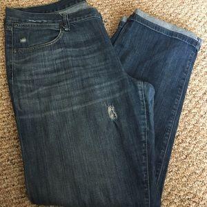 Gap jeans limited edition boyfriend jeans size 14